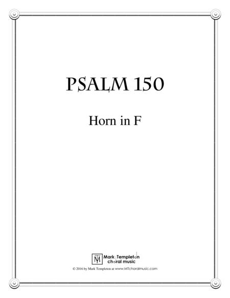 Psalm 150 (Horn in F)