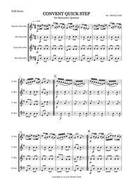 Convent Quick Step for Recorder Quartet