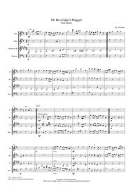 Mr Beveridge's Maggot (Theme and Variations) - wind quartet