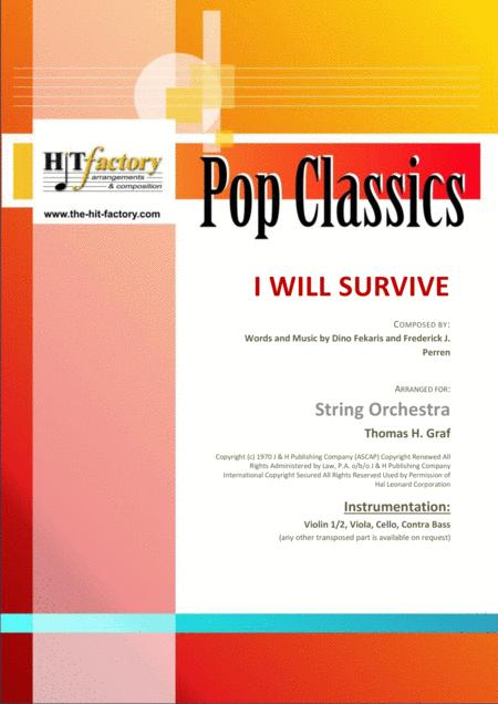 I Will Survive - Gloria Gaynor - Ballad & Disco - String Orchestra