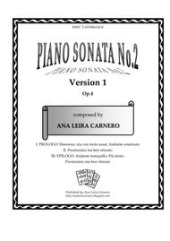 Piano Sonata No.2, Version 1