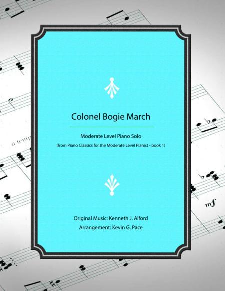 Colonel Bogie March - moderate level piano solo