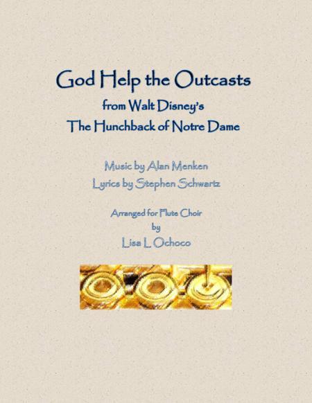 God Help The Outcasts for Flute Choir