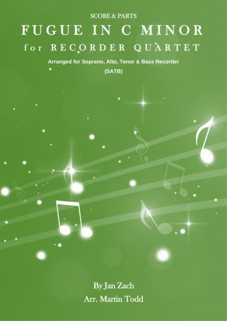 Fugue in C Minor for Recorder Quartet