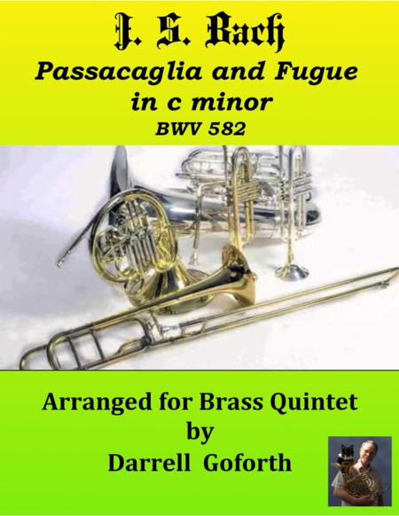 Bach: Passacaglia and Fugue in c minor for Brass Quintet