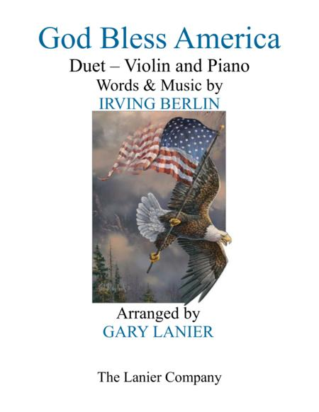 GOD BLESS AMERICA (Duet –  Violin & Piano with Parts)