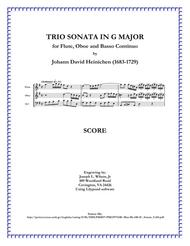 Heinichen Trio Sonata in G Major, S. 243
