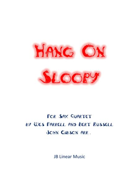 Hang On Sloopy for Sax Quartet
