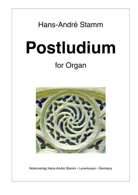 Postludium for organ
