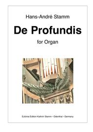 De Profundis for organ