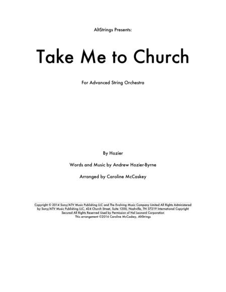 Take Me To Church - String Orchestra