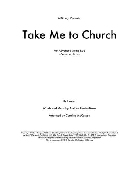 Take Me To Church - Cello and Double Bass Duet