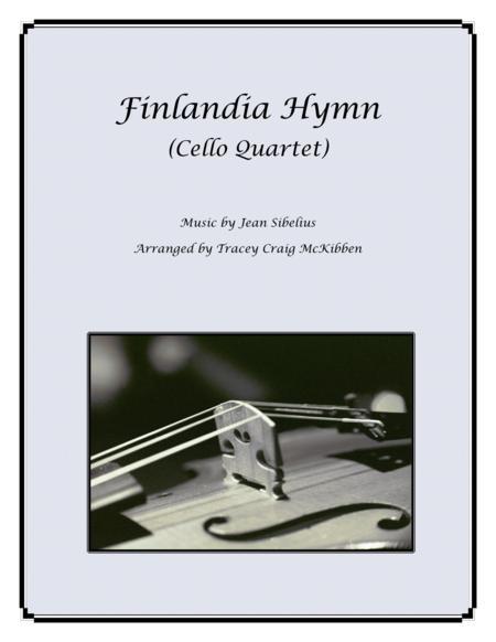 Finlandia Hymn for Cello Quartet