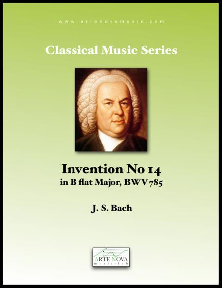 Invention No 14 in B Flat Major, BWV 785