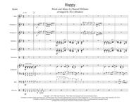 Happy (arranged for percussion ensemble)