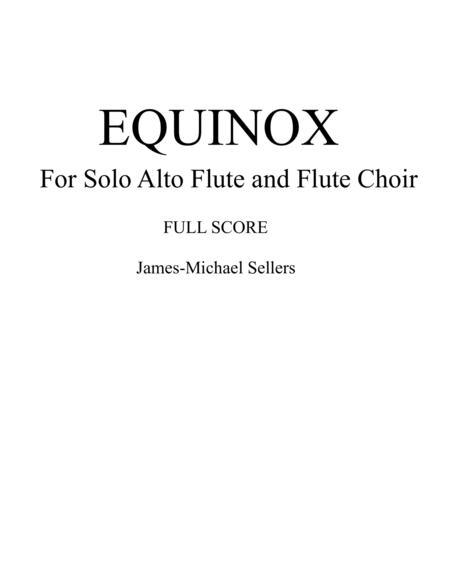 Equinox (for Solo Alto Flute and Flute Choir)