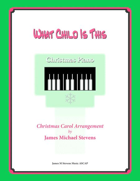 What Child Is This (Christmas Piano)