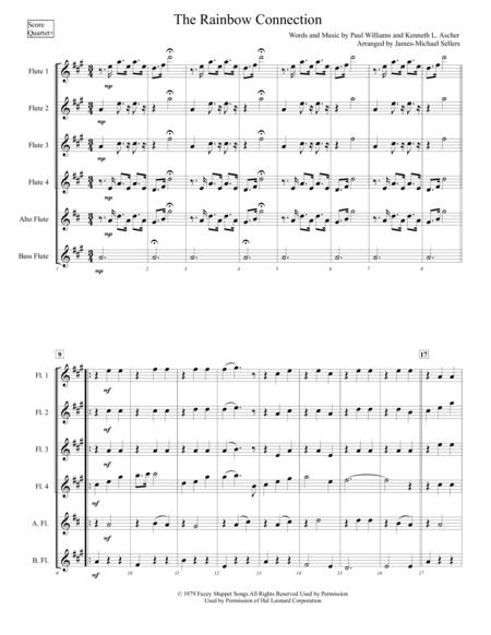 Download The Rainbow Connection (for Expandable Flute Choir) Sheet ...