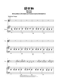 "John legend ""all of me"" sheet music (easy piano) in g major."