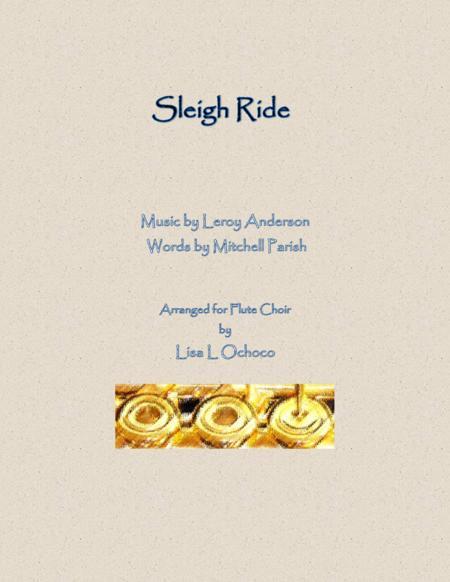 Sleigh Ride for Flute Choir