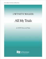 Gospel Songs: All My Trials (Piano/Choral Score)