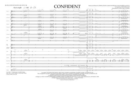Confident - Full Score