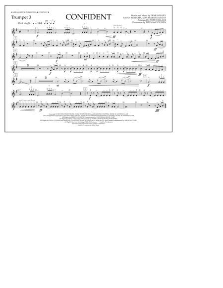 Confident - Trumpet 3