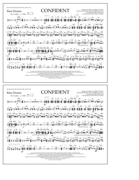 Confident - Bass Drums