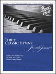 Three Classic Hymns for Solo Piano