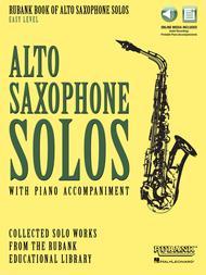 Rubank Book of Alto Saxophone Solos - Easy Level