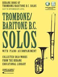 Rubank Book of Trombone/Baritone B.C. Solos - Easy to Intermediate