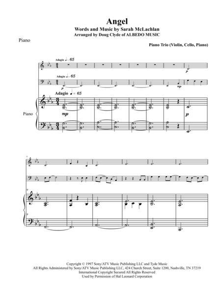 Angel for Piano Trio