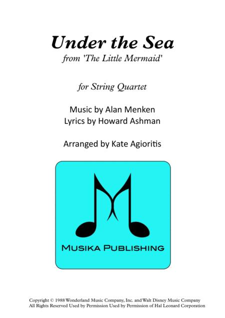 Under The Sea - String Quartet