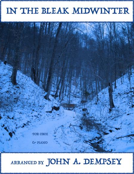 In the Bleak Midwinter (Oboe and Piano)