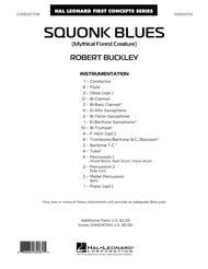 Squonk Blues - Conductor Score (Full Score)