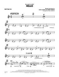 Hello - Baritone Sax