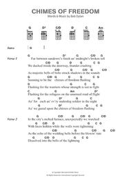 Download chimes of freedom sheet music by bob dylan sheet music plus.