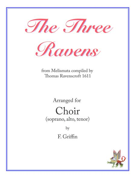 The Three Ravens for SAT choir
