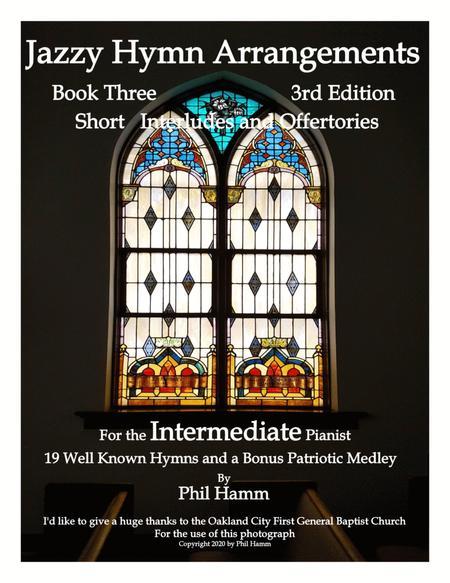 Jazzy Hymn Arrangements Book Three