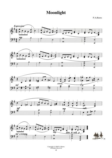 Preview Winter Suite: Five Short Pieces For Piano By Penny
