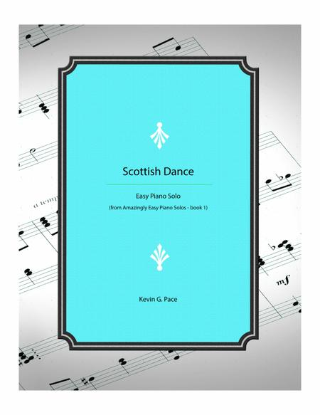 Scottish Dance - Easy piano solo