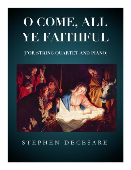 O Come All Ye Faithful (for String Quartet)