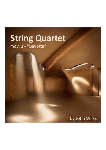 Gavotte - String Quartet (Mov #3 of String Suite)