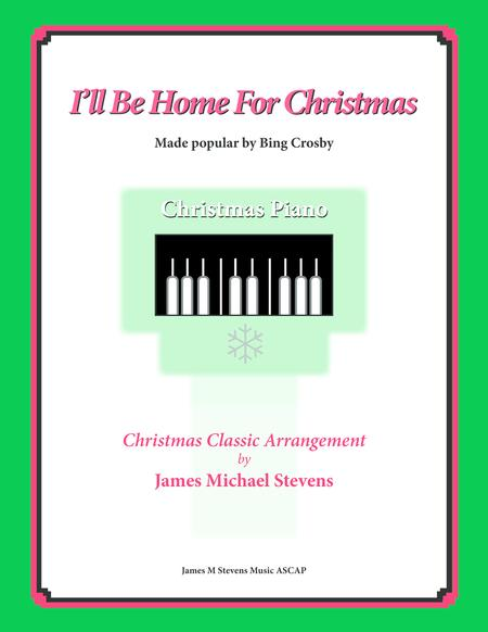 ill be home for christmas romantic piano - Bing Crosby I Ll Be Home For Christmas