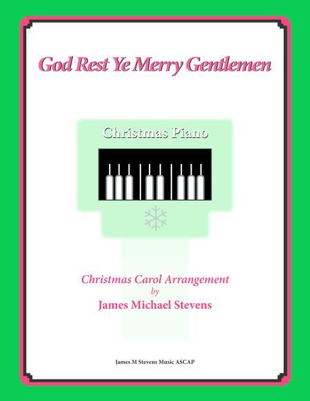 God Rest Ye Merry Gentlemen (Christmas Piano)