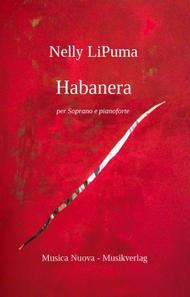 Habanera for Soprano and piano (available also for mezzo soprano and piano)