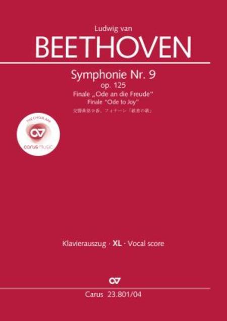 Symphony No. 9, Op. 125 - Finale (Choral Symphony)