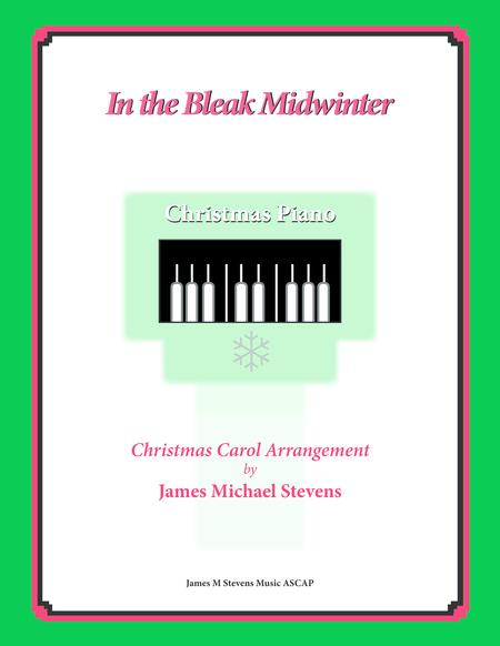 In the Bleak Midwinter (Christmas Piano)