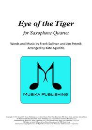 Eye Of The Tiger - Saxophone Quartet