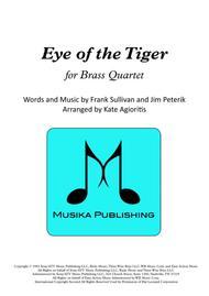 Eye Of The Tiger - Brass Quartet